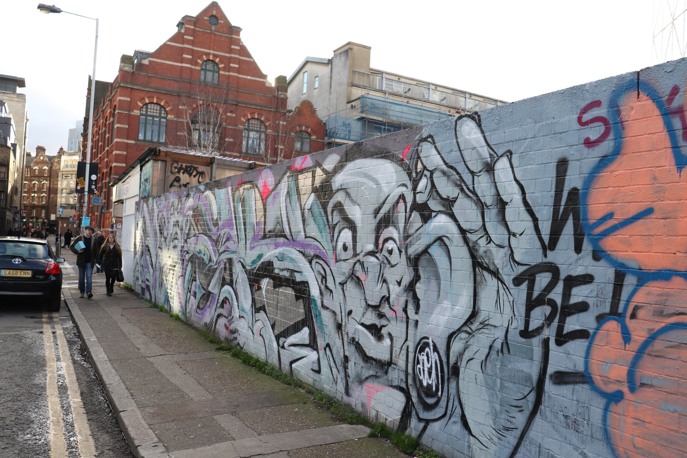 Graffiti representing the sometimes creative yet risky, impulsive or defiant behaviors of those with ADHD and ODD