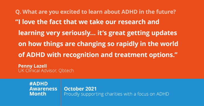 Working in ADHD care - Penny Lazell