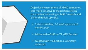 QbTest compared with ASRS Rating Scale for measuring Treatment Effects